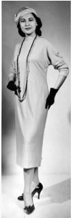 圖片 7 模特林慧愛,攝於1958年(林慧愛提供)