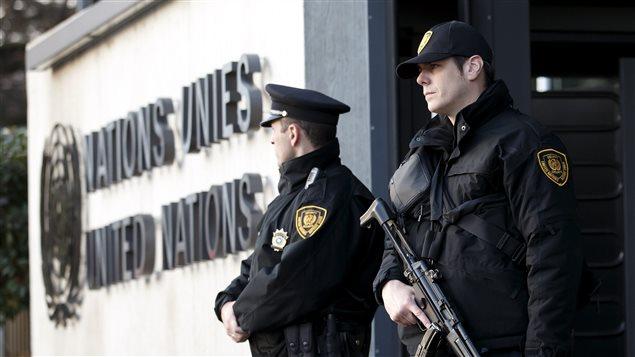 星期四,日内瓦的联合国欧洲总部加强了警戒。