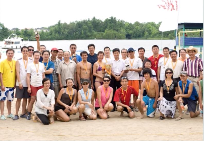 图片 6 2012年沙滩排球赛(OACCUA提供)