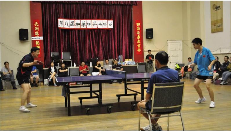 图片 7 2007年第八届加华杯乒乓球赛(OACCUA提供)