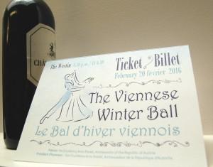 viennese ball ticket2016