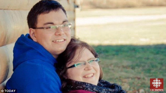 NewlywedsBethani, 22, (right) and Tim Webb, 23 (left) were married about three months when Bethani became pregnant