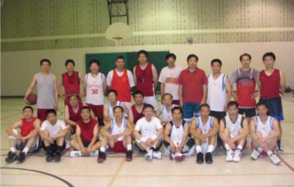 图片 7 2007年部分渥太华参赛队员(薛金生提供)