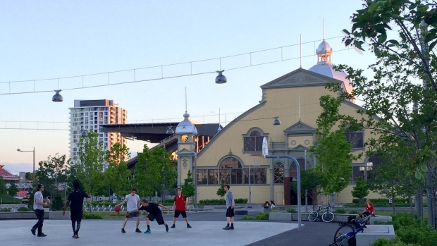 skating-rink-basketball-court-at-lansdowne-in-summer