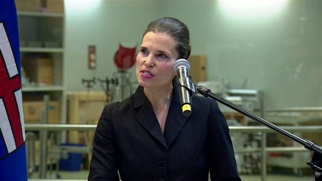 加拿大科技部长科丝蒂.邓肯