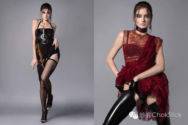 时装秀上的情趣装备,雷帝麦当娜都是她的死忠粉