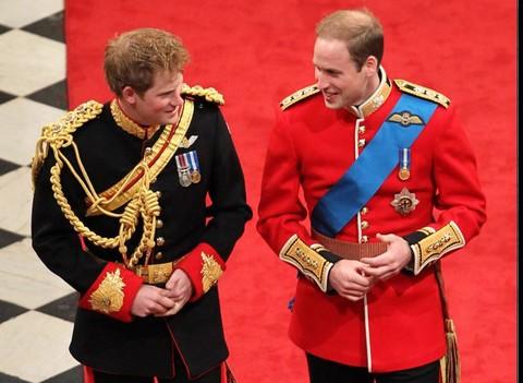 2011年威廉王子婚礼,哈里为哥哥当伴郎