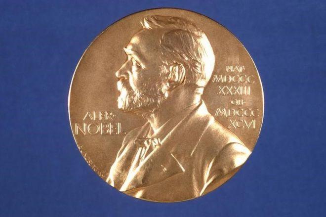 诺贝尔获奖者奖牌