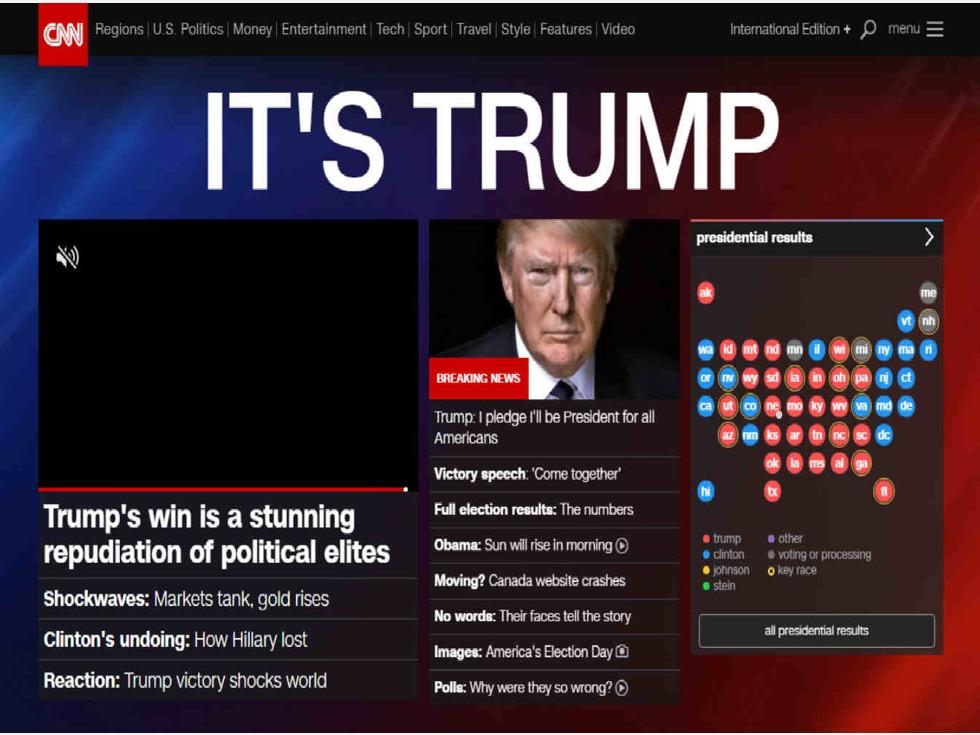 美国cnn官网_特朗普胜选 美国主流媒体为何集体误判?(图)-新华侨网