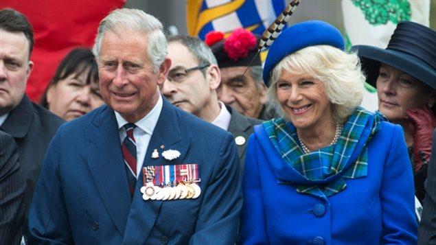 查尔斯王储夫妇2014年访问加拿大的哈利法克斯