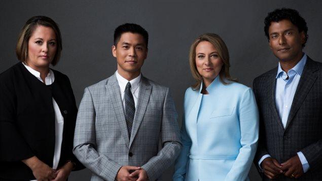 CBC晚间新闻节目4位新主播星期二亮相