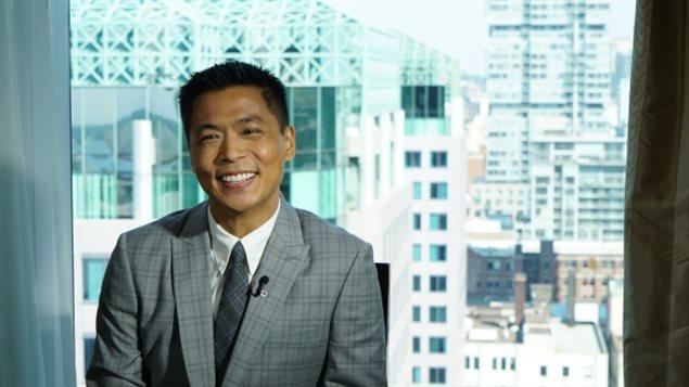 CBC温哥华英语电视台新闻主播 Andrew Chang
